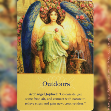 Outdoors from Archangel Jophile ~Archangel Oracle Cards