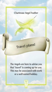 Travel plans! ~ The Angel Feather Oracle