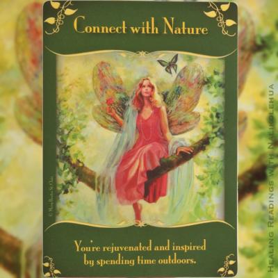 自然とつながる/Connect with Nature 〜マジカルフェアリーオラクルカード