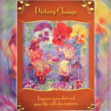 食事を変える/Dietary change 〜マジカルフェアリーオラクルカード
