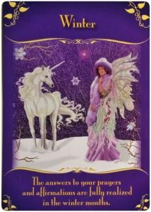 冬/Winter 〜マジカルフェアリーオラクルカード