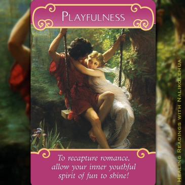 Playfullness/遊び心 〜ロマンスエンジェルオラクルカード