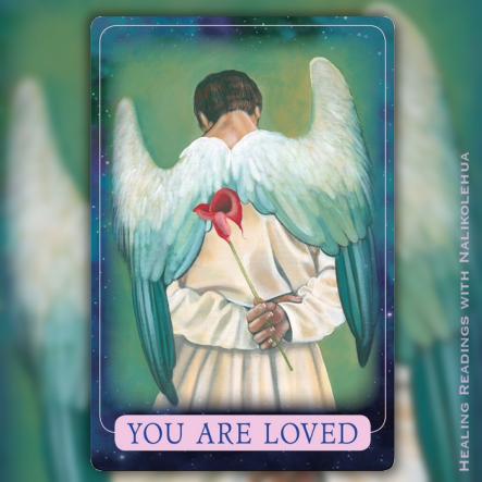 あなたは愛されています/You Are Loved 〜インディゴエンジェルオラクルカード
