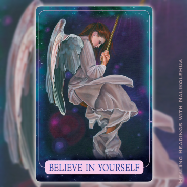 Believing in Yourself from Indigo Angel Oracle Cards