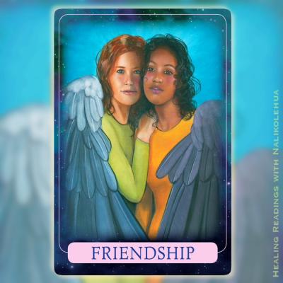 友情/Friendship 〜インディゴエンジェルオラクルカード