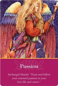 Passion/情熱 大天使ハニエル ~大天使オラクルカード