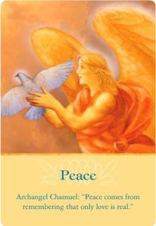 Peace/平和 大天使シャムエル ~大天使オラクルカード
