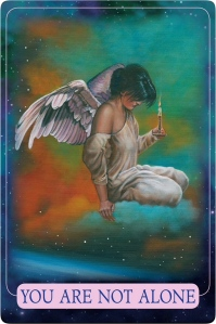 You Are Not Alone from Indigo Angel Oracle Cards