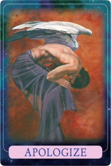 Apologise of the Indigo Angel Oracle Cards