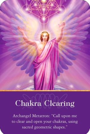 チャクラの浄化/Chakra Clearing 〜大天使オラクルカード