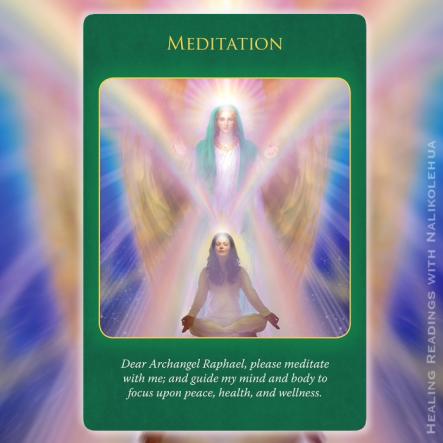 瞑想/Meditation 〜大天使ラファエルヒーリングオラクルカード