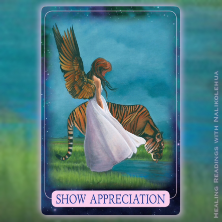 Show Appreciation from the Indigo Angel Oracle Cards