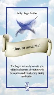 Time to meditate! 瞑想しよう!〜エンジェルフェザーオラクル