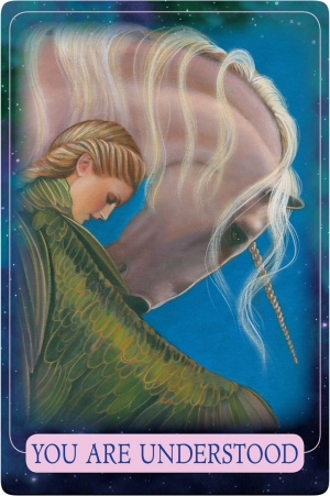 You Are Understood of the Indigo Angel Oracle Cards