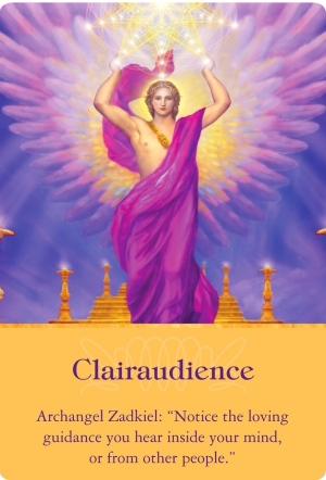 透聴する/Clairaudience 大天使ザドキエルより 〜大天使オラクルカード