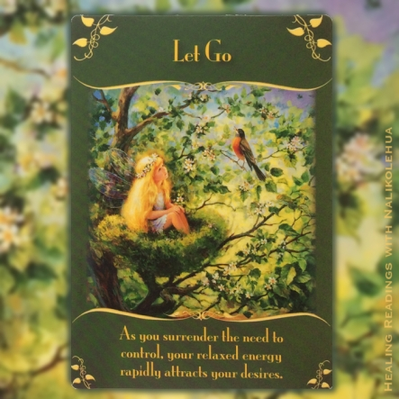 Let Go ~ Magical Messages from the Fairies Oracle Cards