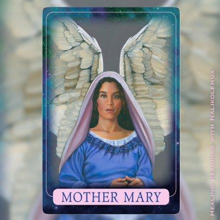 聖母マリア様/Mother Mary ~インディゴエンジェルオラクルカード