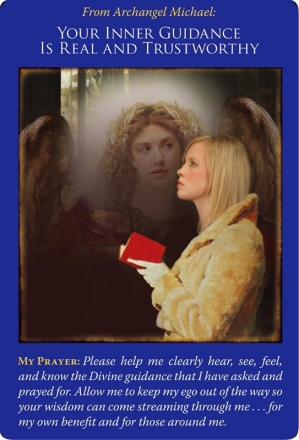 あなたの内なるガイダンスは本物で信頼できます/Your Inner Guidance is Real and Trustworthy 〜大天使ミカエルオラクルカード