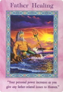 Father Healing of the Magical Mermaids & Dolphins oracle cards