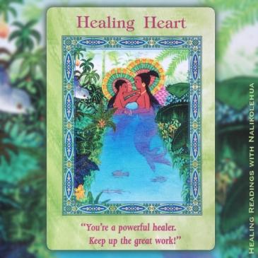 癒しの心/Healing Heart 〜マーメイド&ドルフィンオラクルカード
