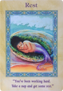 Rest of the Magical Mermaids & Dolphins oracle cards