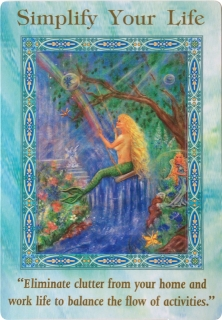 Simplify Your Life of the Magical Mermaids & Dolphins oracle cards