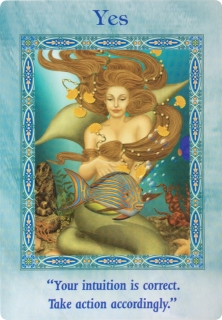 Yes of the Magical Mermaids & Dolphins oracle cards
