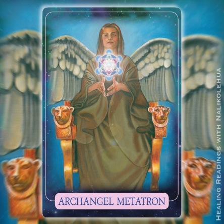 大天使メタトロン/Archangel Metatron 〜インディゴエンジェルオラクルカード