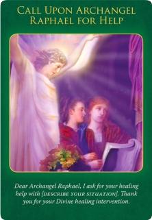 大天使ラファエルに助けを求めましょう/Call Upon Archangel Raphael For Help 〜大天使ラファエルヒーリングオラクルカード