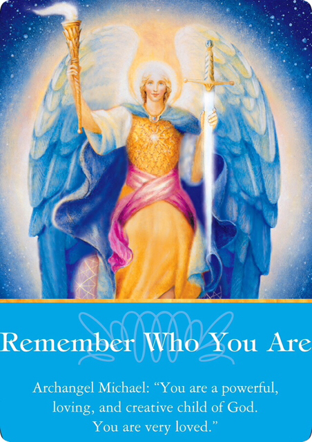 本当のあなた/Remember Who You Are 大天使ミカエルより 〜大天使オラクルカード