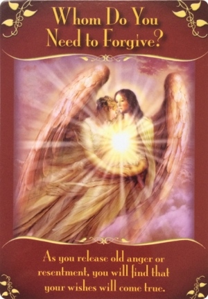 """""""Whom Do You Need to Forgive?"""" ~ Magical Messages from the Fairies Oracle Cards"""