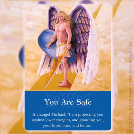 あなたは安全です/You Are Safe 大天使ミカエルより ~大天使オラクルカード