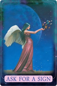Ask For A Sign from Indigo Angel Oracle Cards