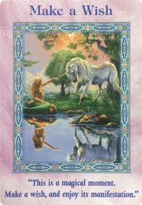 Make a Wish of the Magical Mermaids & Dolphins Oracle Cards