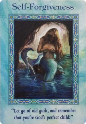 Self-Forgiveness of Magical Mermaids & Dolphins Oracle Cards