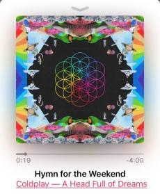 コールドプレイのアルバム Hymn for the Weekend のカバーは生命の花