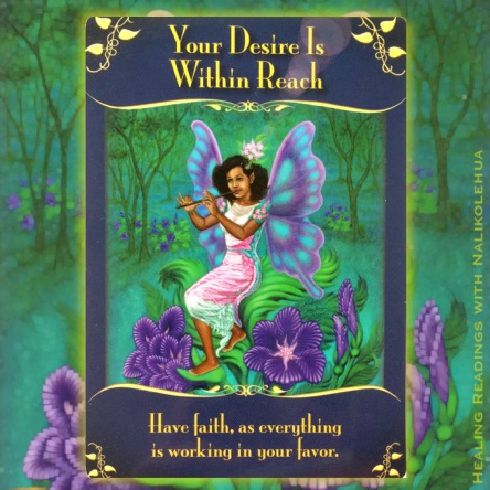 Your Desire Is Within Reach of the Magical Messages from the Fairies