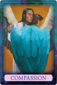 Compassion from Indigo Angel Oracle Cards