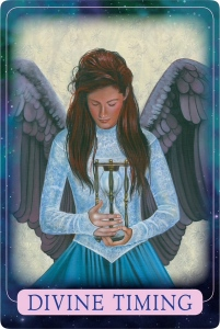 Divine Timing from Indigo Angel Oracle Cards