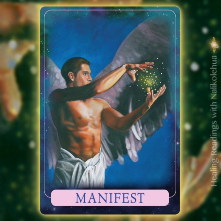 Manifest from Indigo Angel Oracle Cards