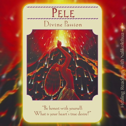 ペレ/Pele 〜女神のガイダンスオラクルカード