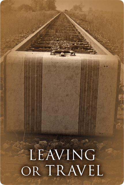 別れ・旅立ち/Leaving or Travel 〜パストライフオラクルカード