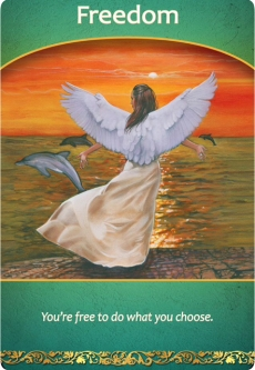 Freedom from the Life Purpose Oracle Cards