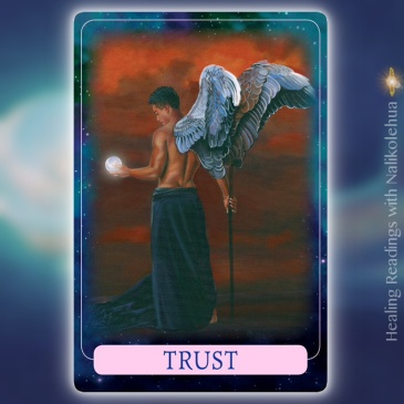 Trust from Indigo Angel Oracle Cards