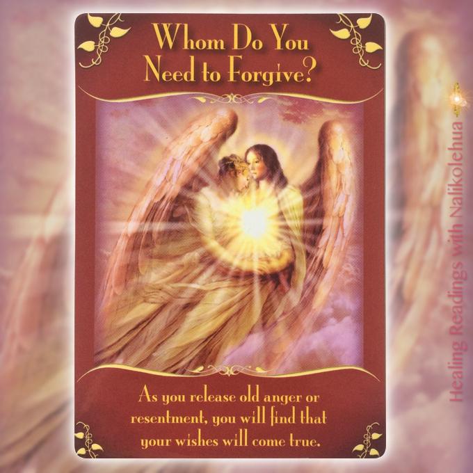 誰を許す必要があるのですか?/Whom do you need to forgive? 〜マジカルフェアリーオラクルカード