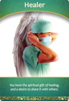 Healer from the Life Purpose Oracle Cards