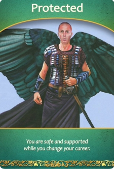 Protected from the Life Purpose Oracle Cards