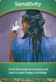 Sensitivity from the Life Purpose Oracle Cards
