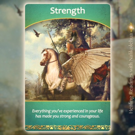 強さ/Strength ライフパーパスオラクルカードより