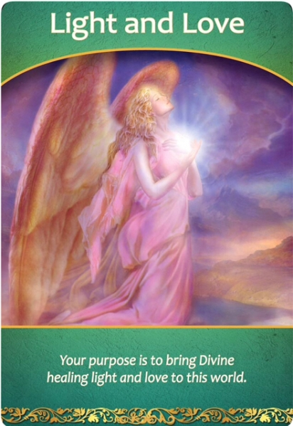 Light and Love from Life Purpose Oracle Cards